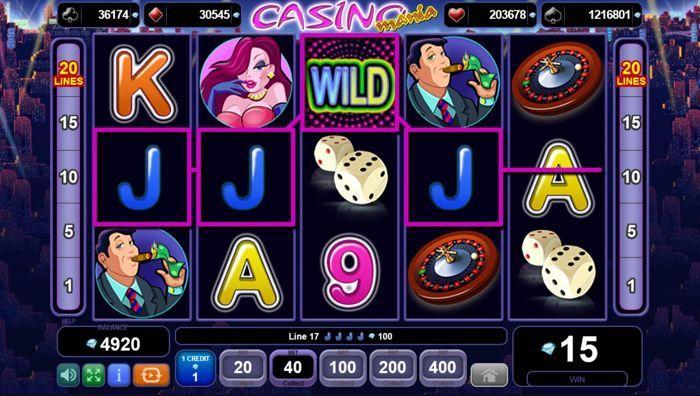 игровой автомат казино Mania онлайн