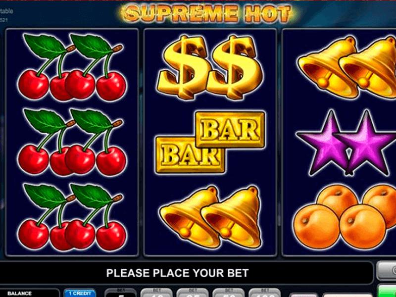 Supreme Hot - maszyna hazardowa w stylu retro